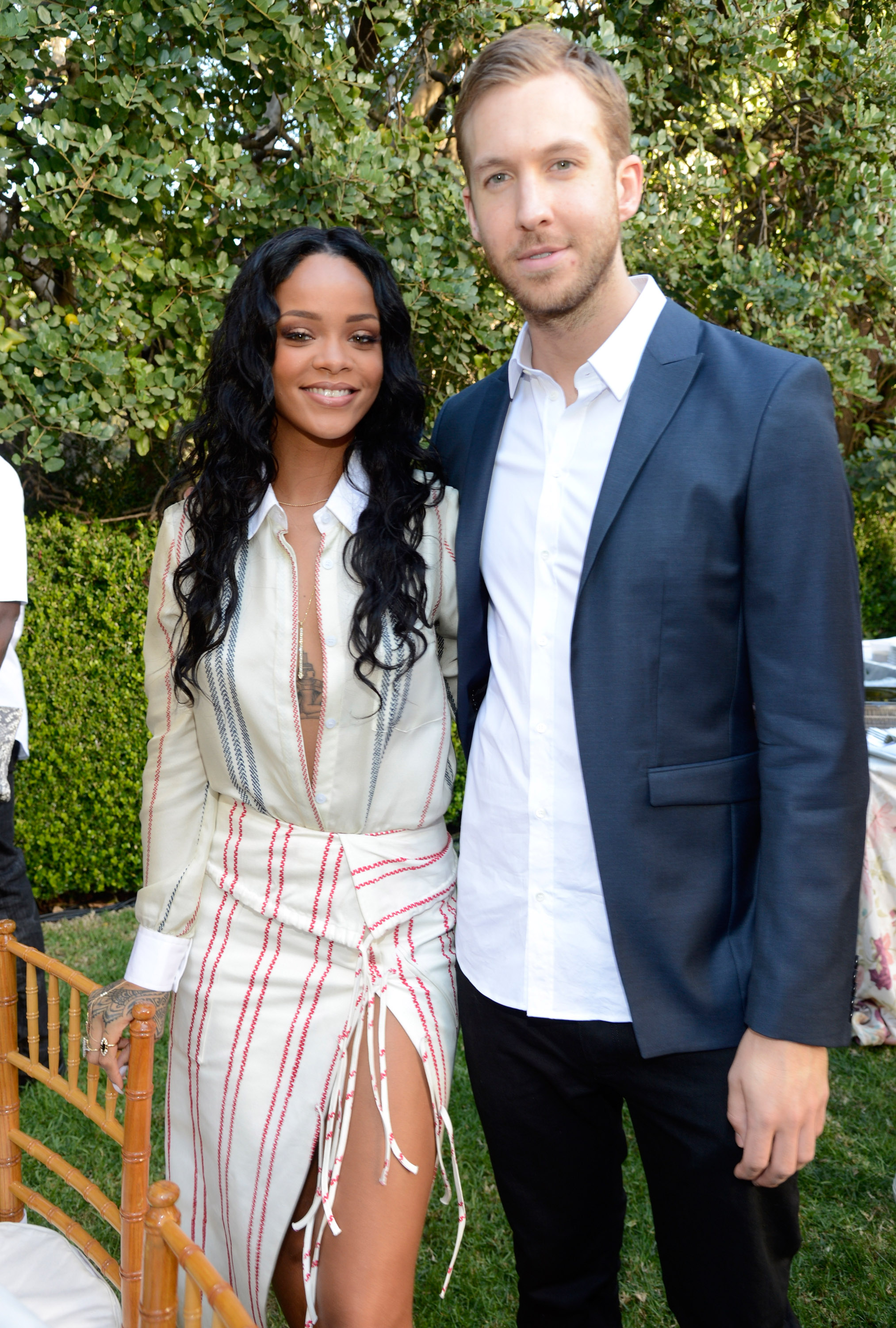 Rihanna, Calvin Harris Reunite for 'This Is What You Came