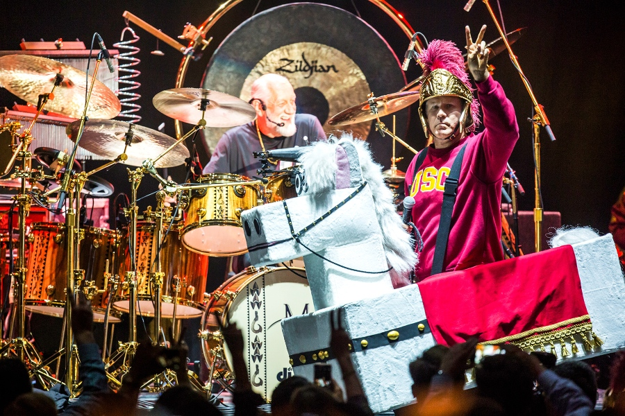 Will Ferrell, Chad Smith Host Silly, Surreal Drum-Off Sequel in L A