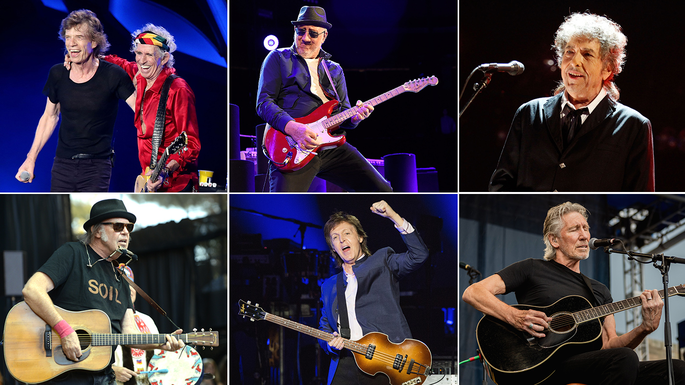Stones, McCartney, Dylan, the Who, Waters, Young Confirm