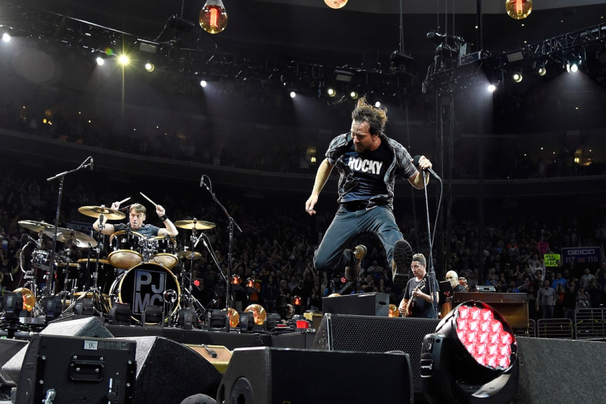 Pearl Jam live in concert