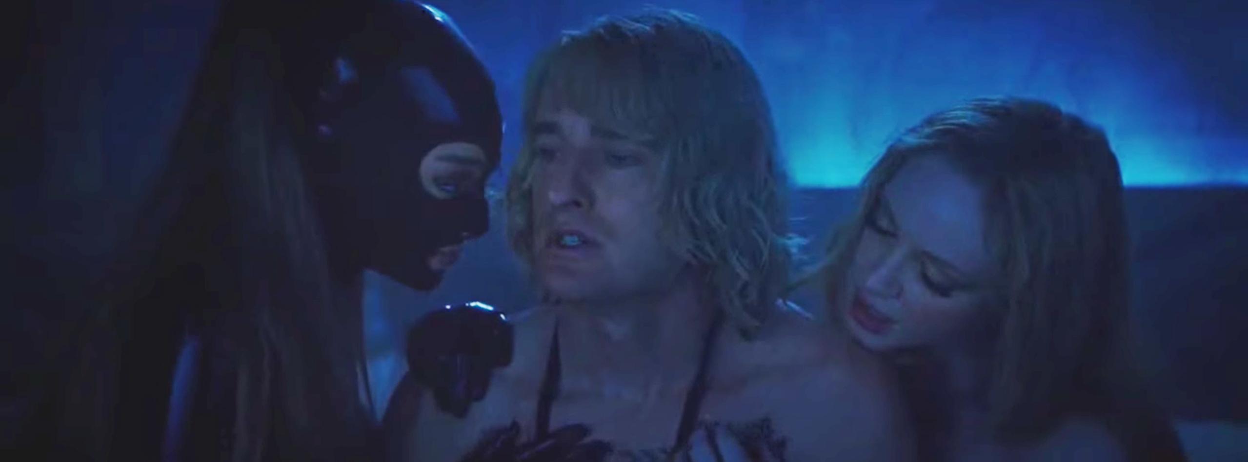 Anal orgasm video