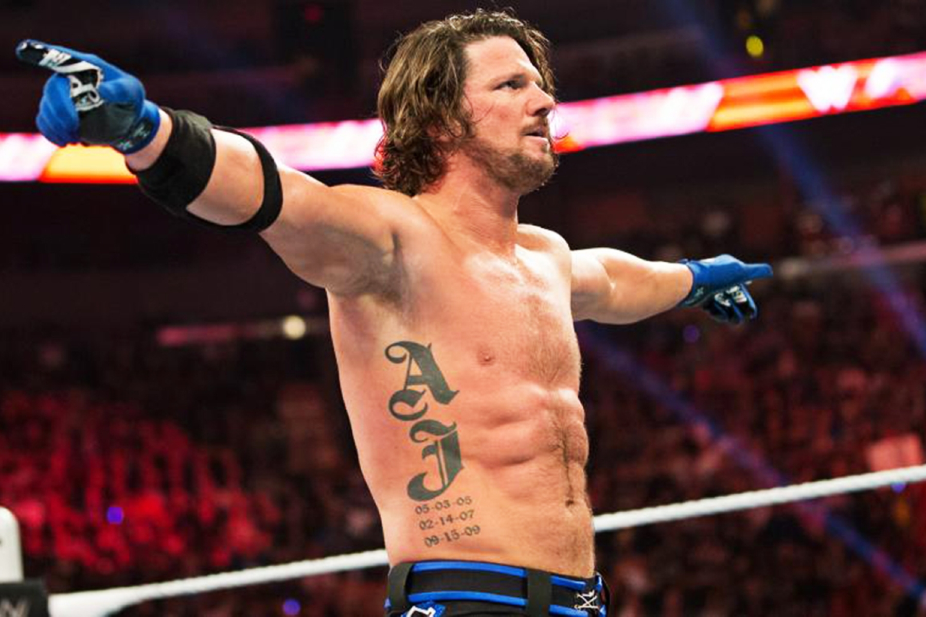 Aj Styles On Working With Roman Reigns And Why He Prefers The Dry Look Rolling Stone