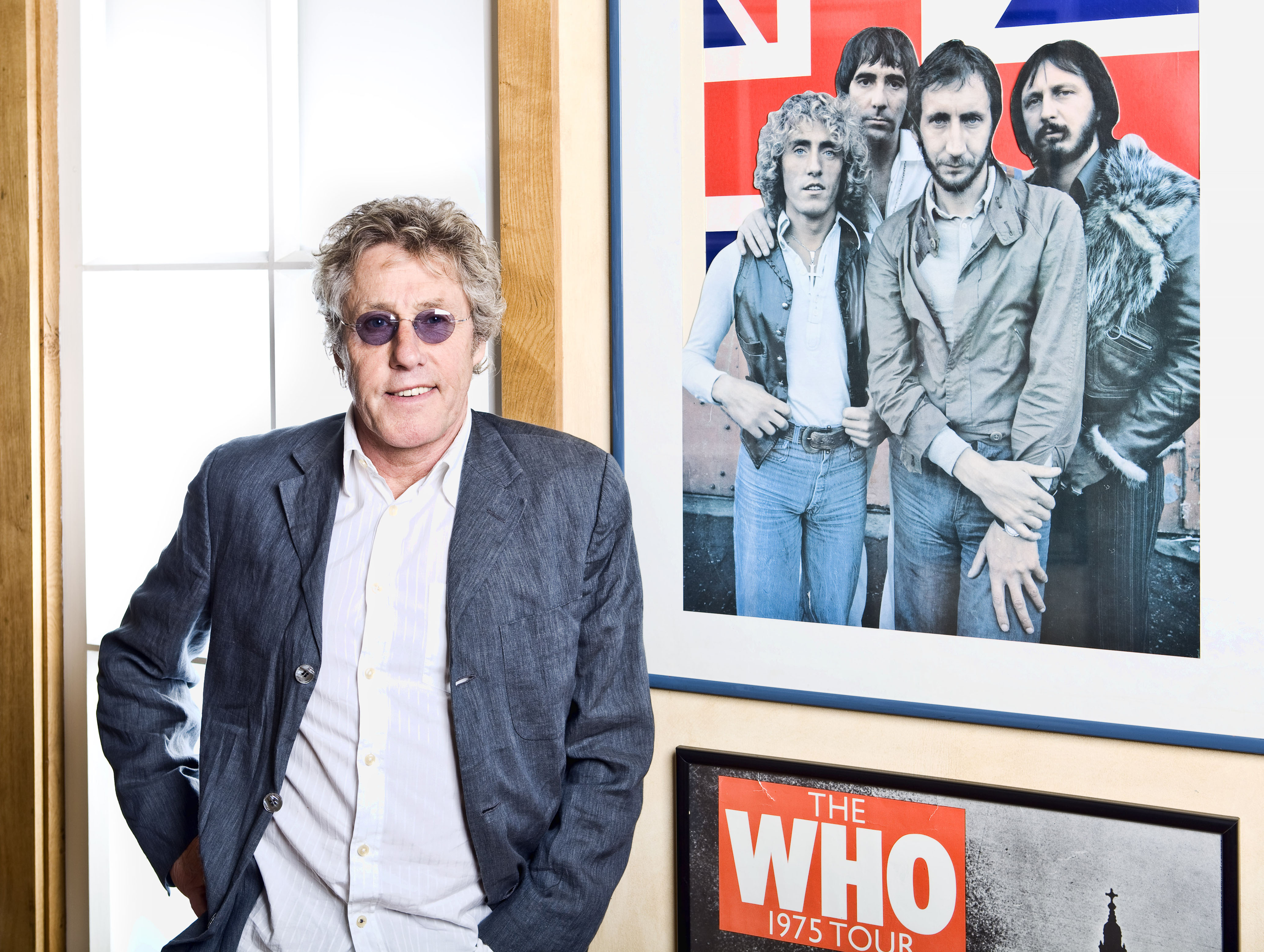 The Who's Roger Daltrey discusses the Teen Cancer America benefit concert,  performing with Eddie Vedder and wild Beatles fans.