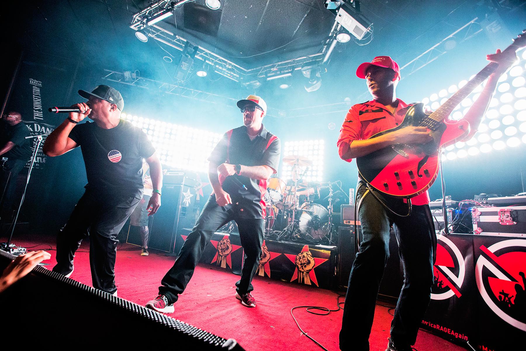 Prophets of Rage Set Defiant Tone at Explosive L.A. Debut