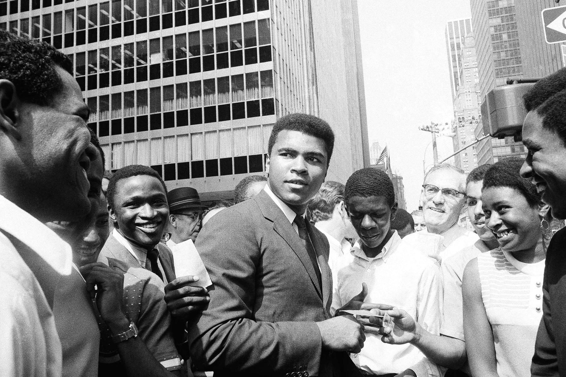 Muhammad Ali; Changed America