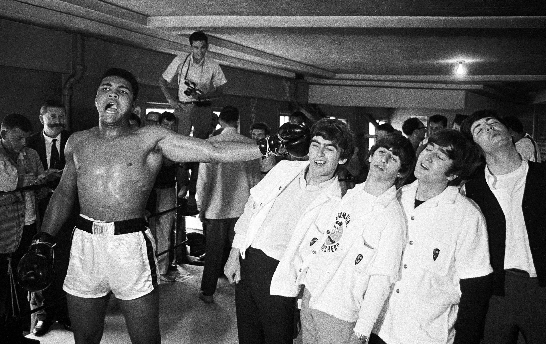 Flashback The Day Muhammad Ali Met Beatles Rolling Stone