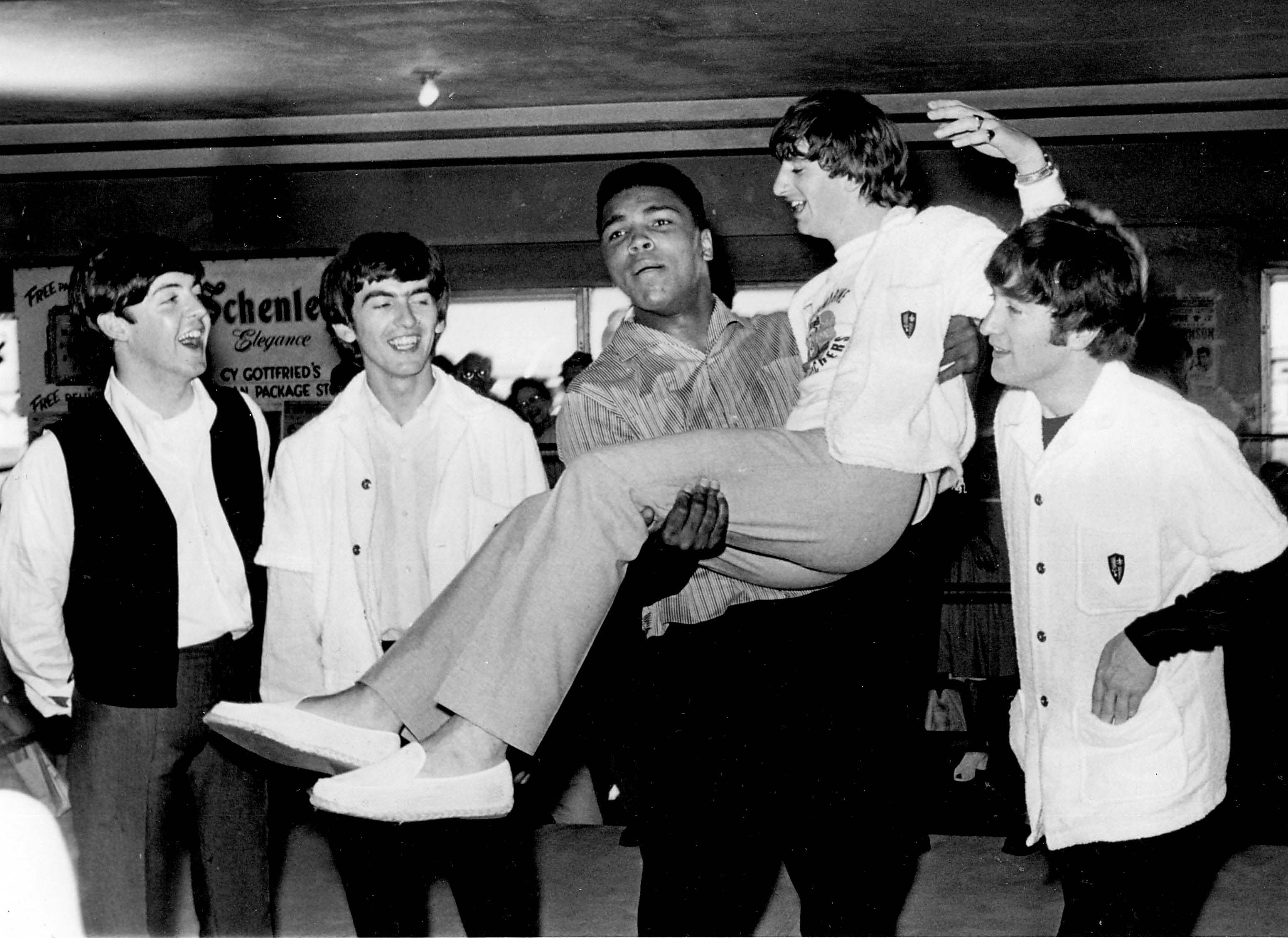 Ringo Starr on the Time Muhammad Ali Picked Him Up