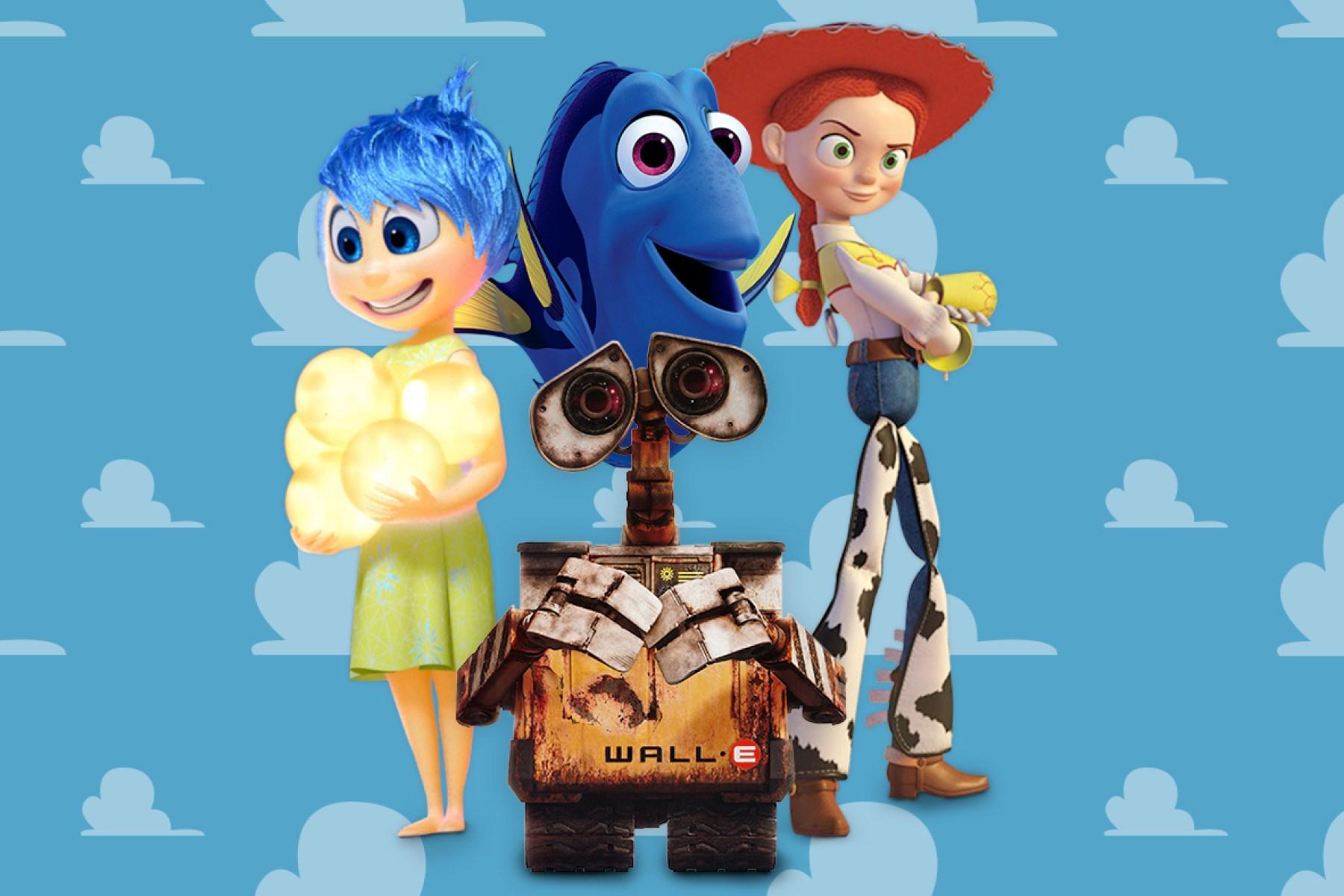 25 Best Pixar Movie Characters Rolling Stone
