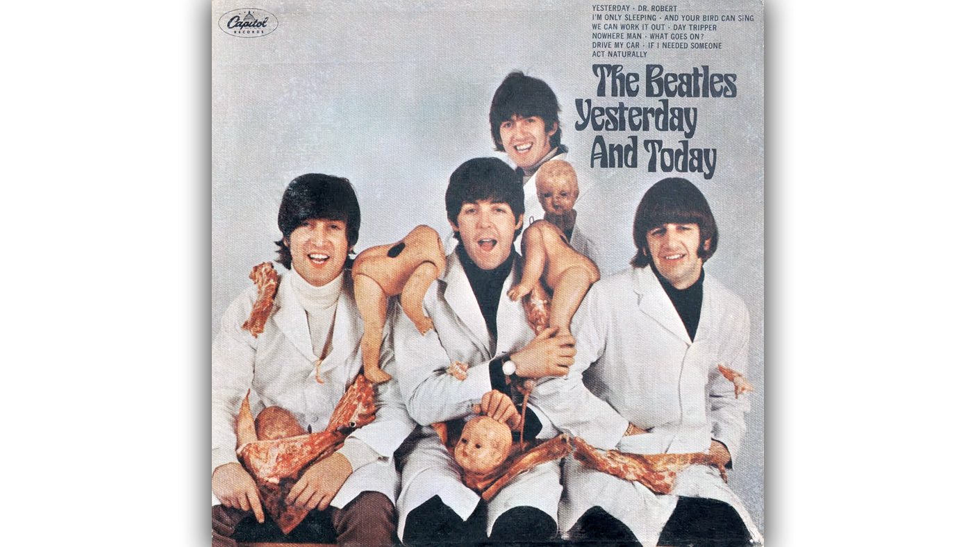 inside beatles bloody banned butcher cover rolling stone. Black Bedroom Furniture Sets. Home Design Ideas