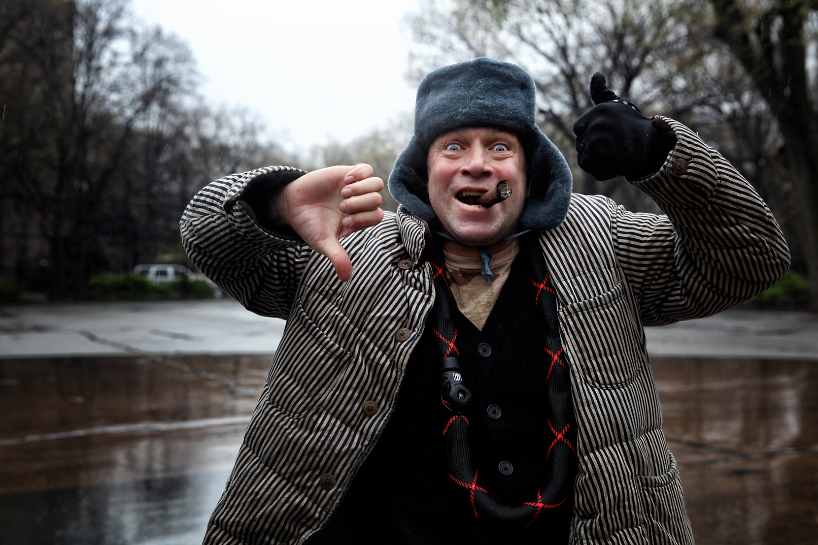 Mark Gonzales Interview Thumbs Up Down NYC Thompkins Square Park.  Skateboarding ... c8c53f35bbe