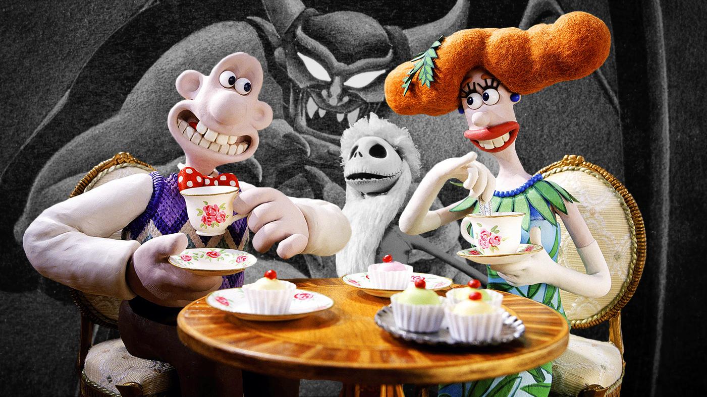 Greatest Animated Movies Wallace gromit Nightmare Christmas Fantasia