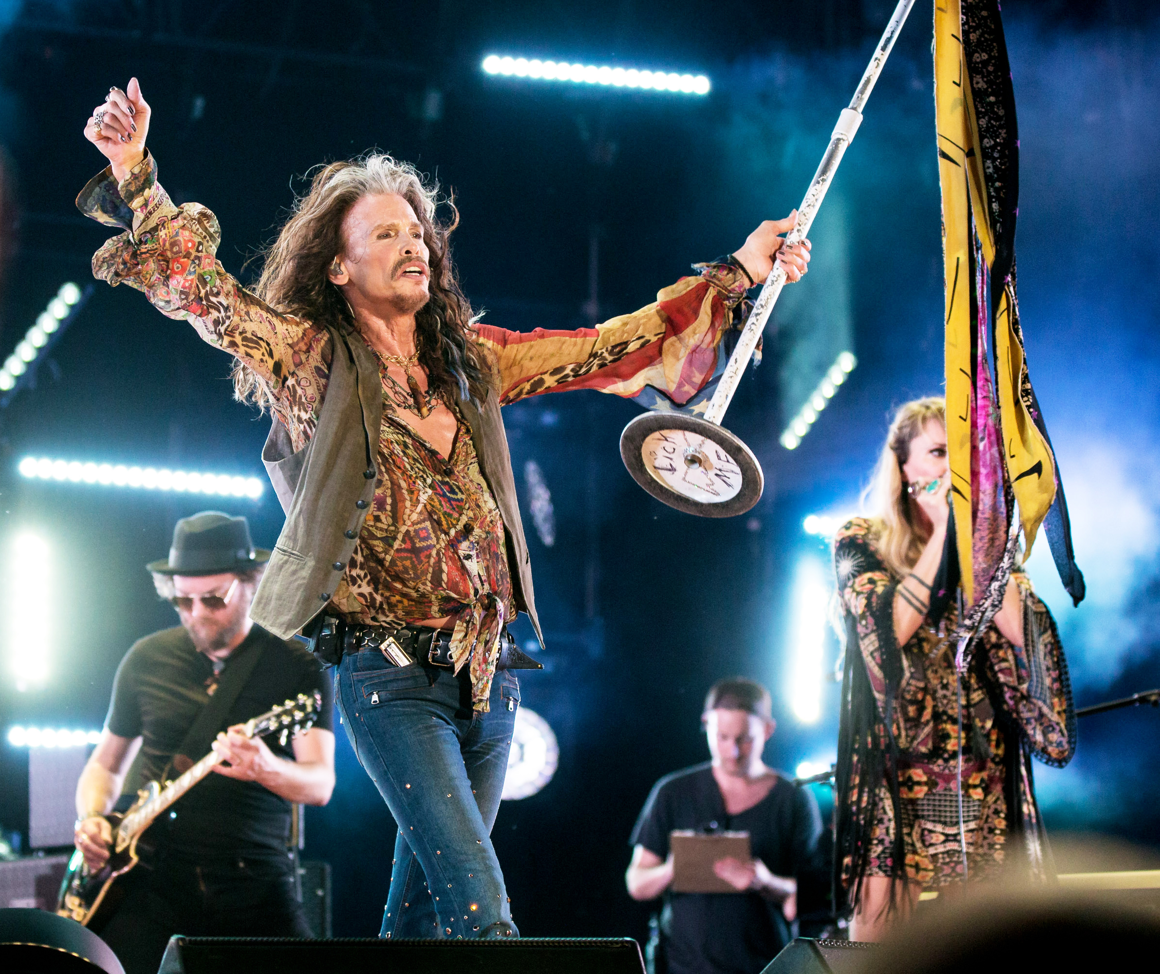 steven tyler confirms aerosmith 2017 farewell tour rolling stone. Black Bedroom Furniture Sets. Home Design Ideas