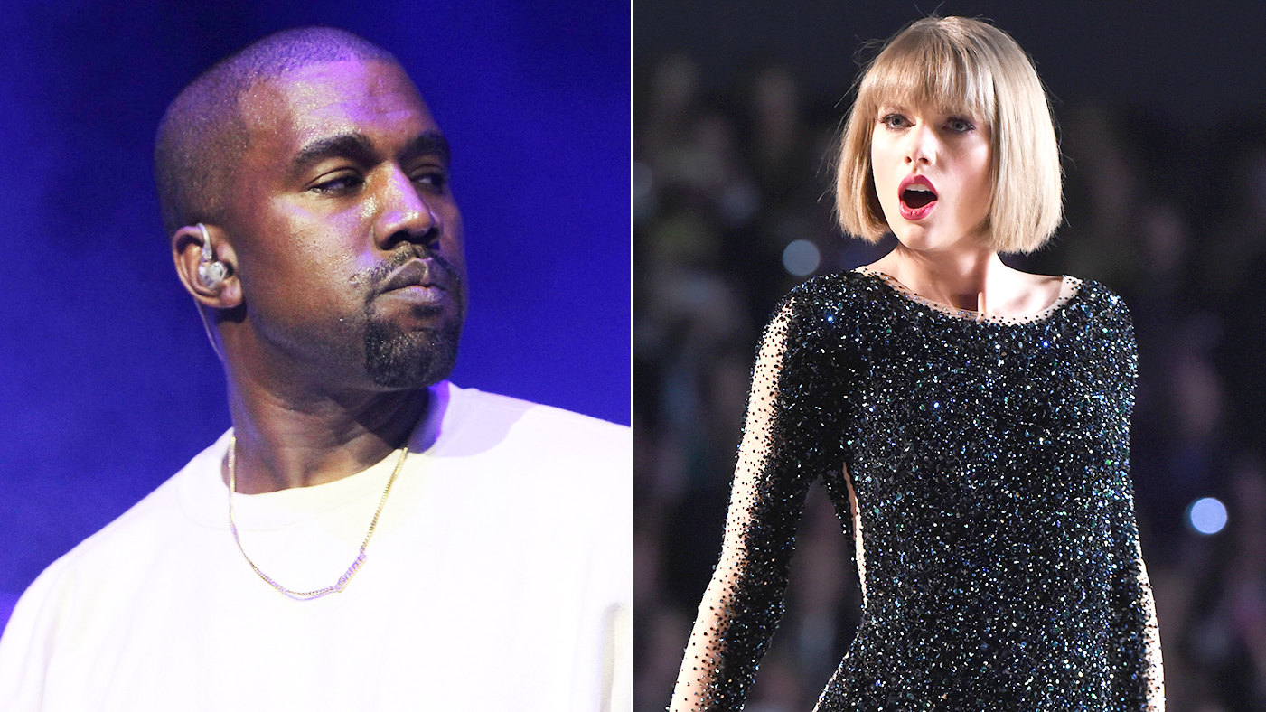 Kanye West Challenges Taylor Swift & More In Famous