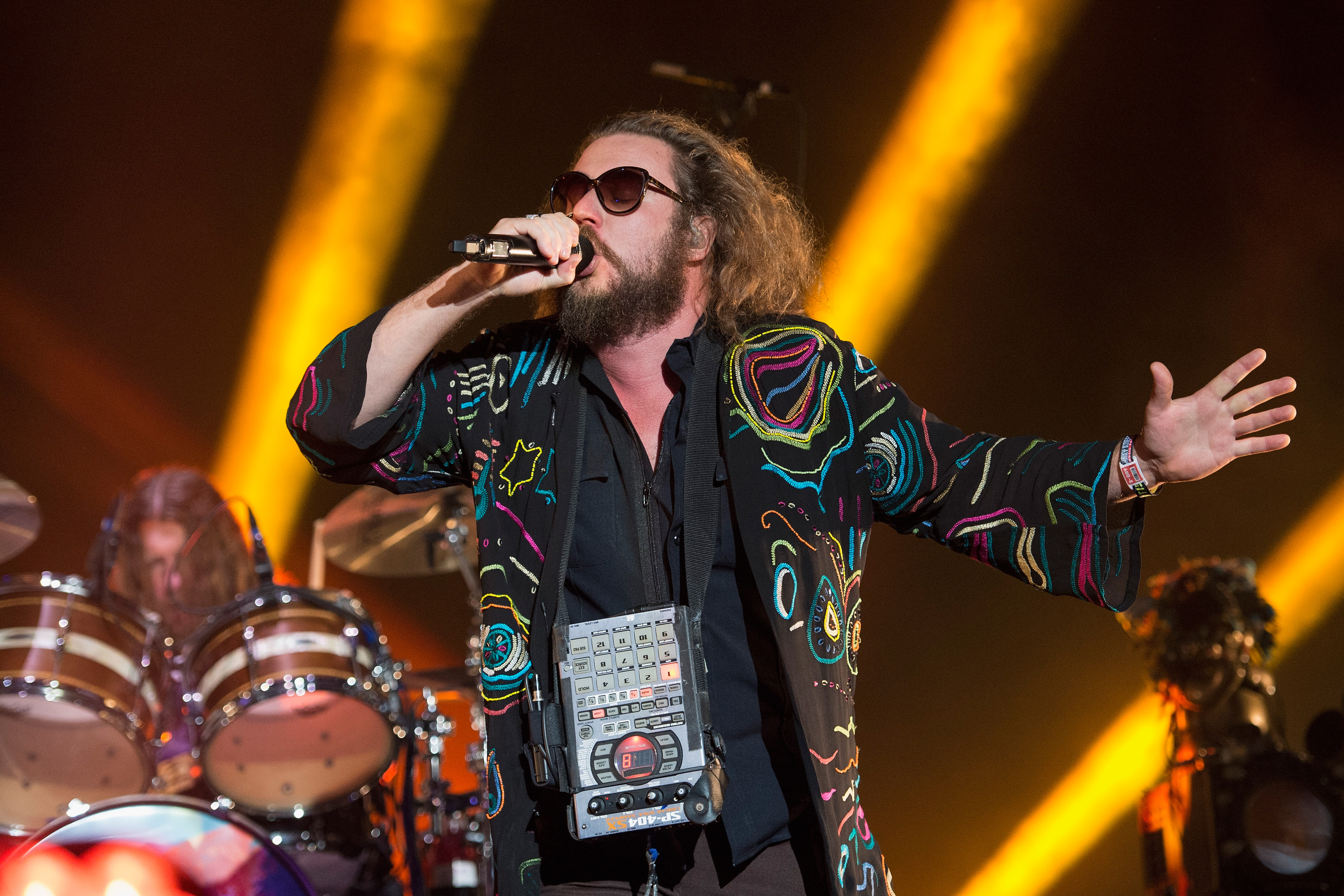Hear Jim James' Space Funk Odyssey 'Everything (The Universe)'