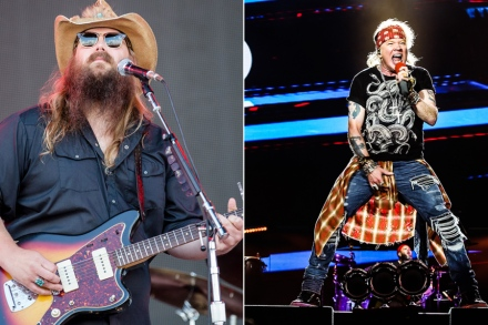 Chris Stapleton on Meeting Axl Rose in Nashville: 'He Was a