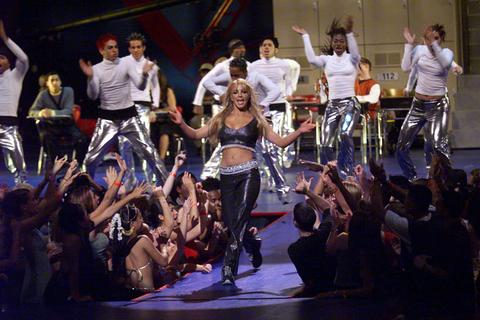Britneys Better VMA Moments 1999