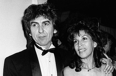 George Harrison Wife Olivia London 1983