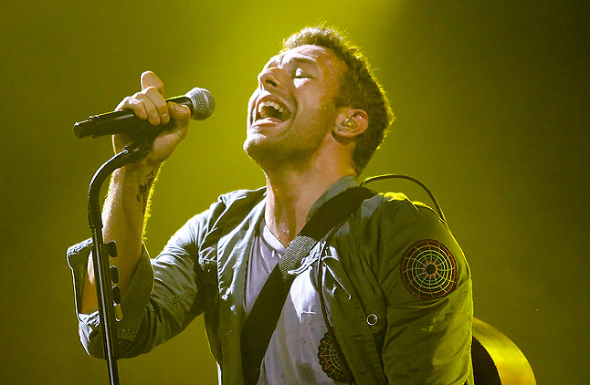 New songs by coldplay