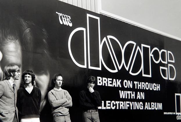 Resultado de imagem para the doors billboard sunset strip