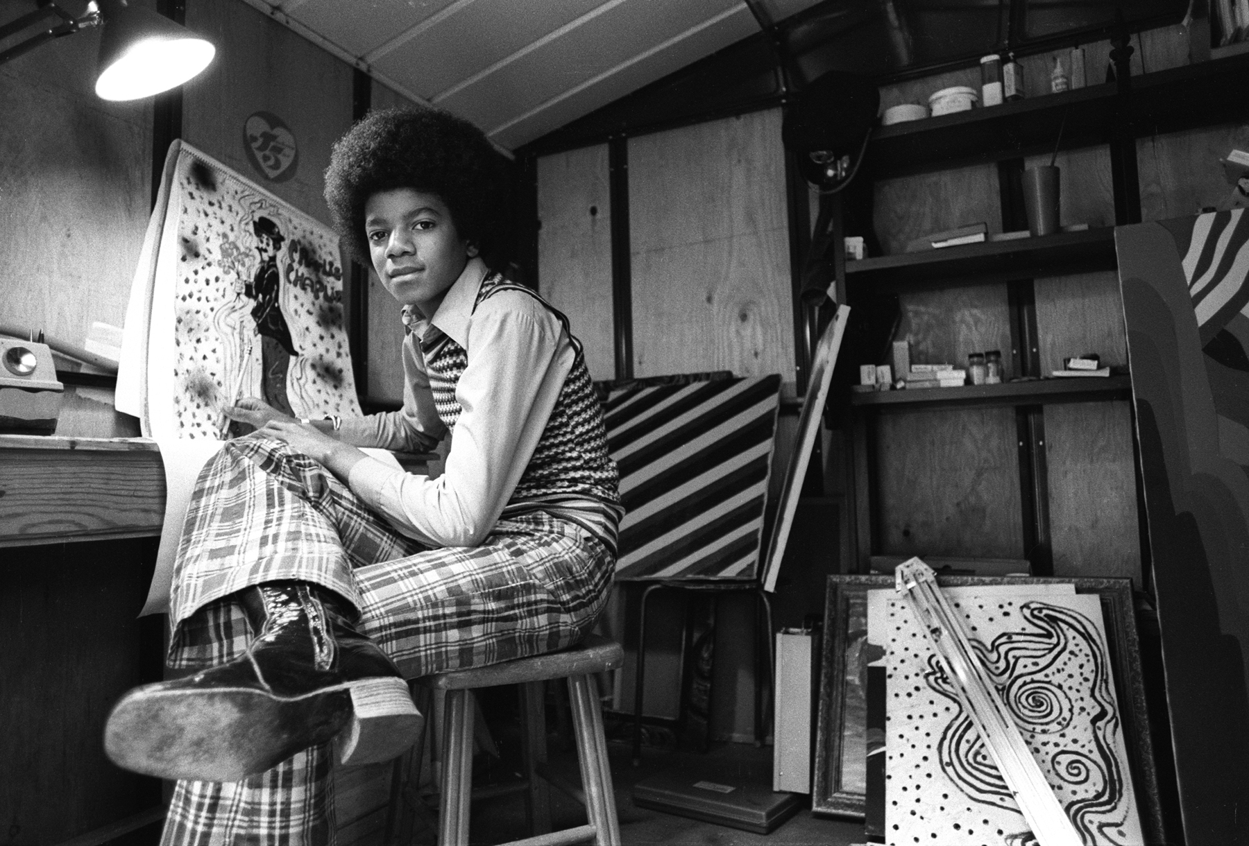Michael Jackson: Intimate Photos From the King of Pop's Teenage Years