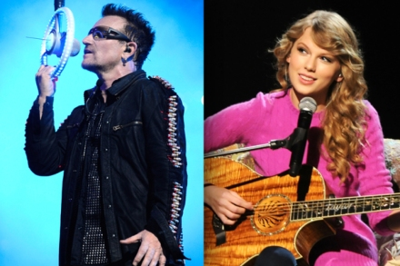 U2, Taylor Swift Had Highest-Grossing Tours of 2011