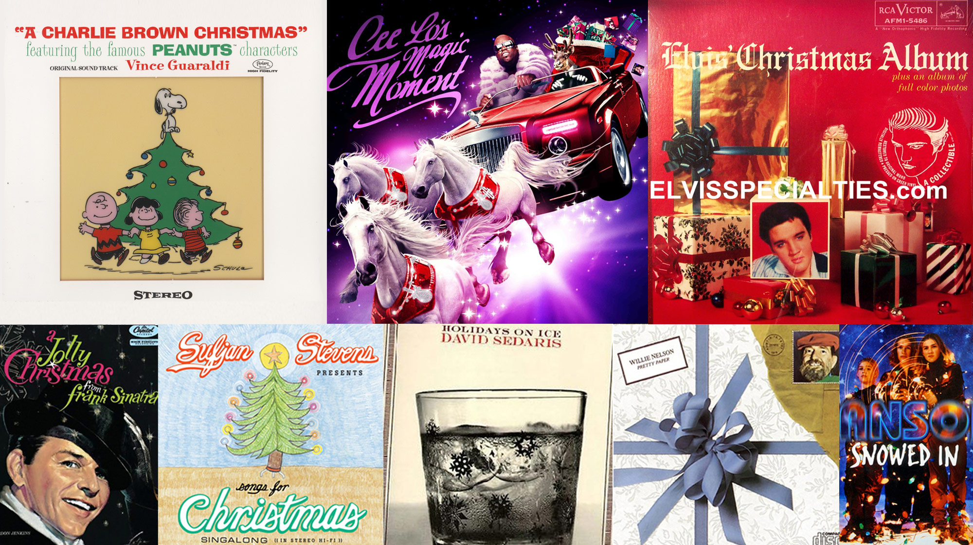 Christmas Album Cover Art.40 Essential Christmas Albums Rolling Stone