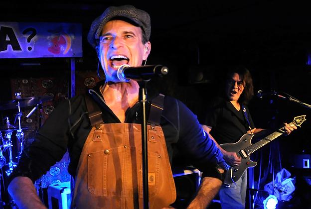 65ef1281117 David Lee Roth and Eddie Van Halen perform with Van Halen at Cafe Wha  in  New York.
