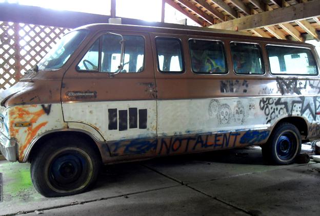 Kurt Cobain Decorated Melvins Van For Sale Rolling Stone
