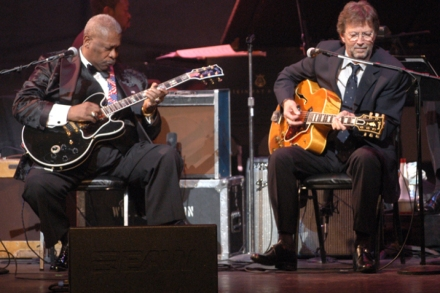Rolling Stone interviews B B  King on his album with Eric