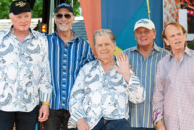 Mike Love David Marks Brian Wilson Bruce Johnston And Al Jardine Of