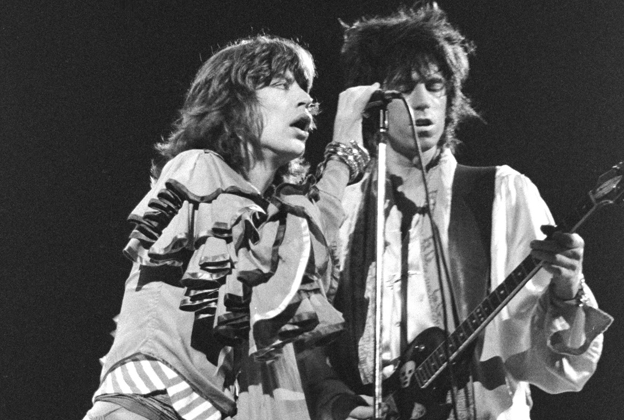 Rolling Stones Mick Jagger Keith Richards