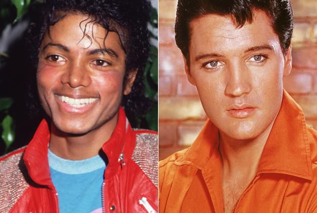 Michael Jackson And Elvis Presley