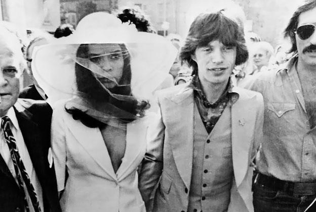 Картинки по запросу Mick and Bianca Jagger wedding
