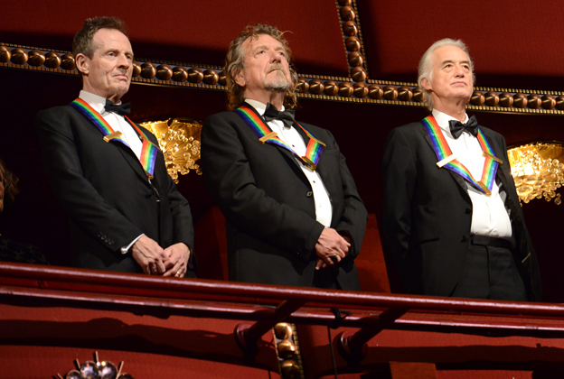 Led Zeppelin Get All,Star Tribute at Kennedy Center Honors
