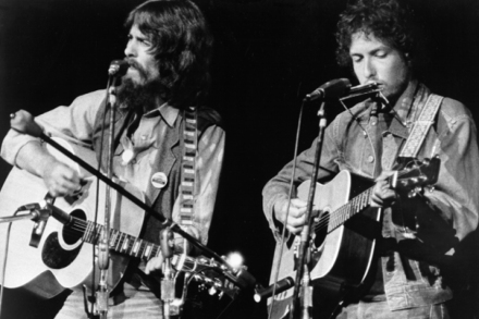 Bob Dylan's Secret Recording Session With George Harrison and Friends