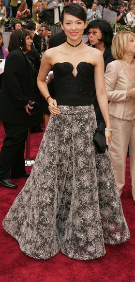 Ziyi Zhang 78th Academy Awards 3 5 06