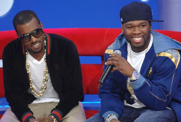 Kanye West 50 Cent Bet