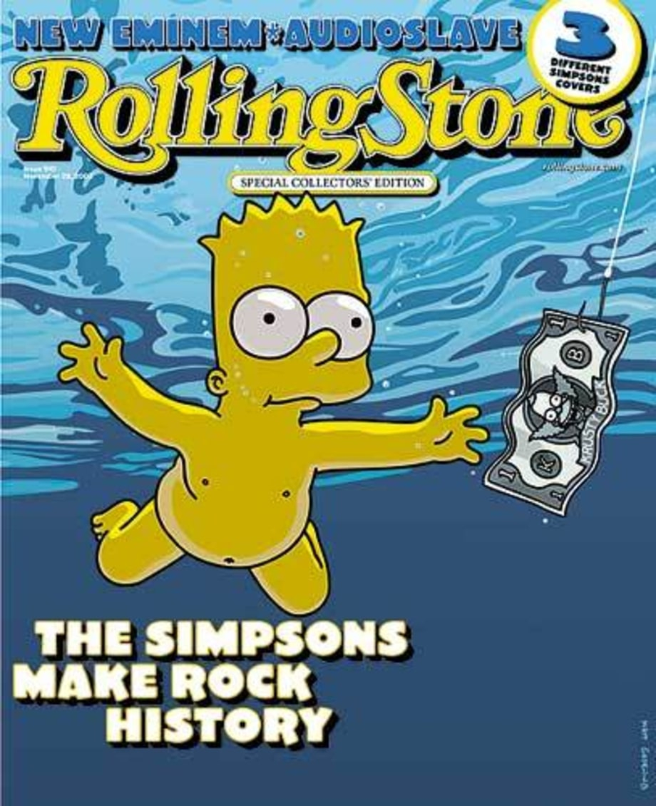 Rock on the Simpsons