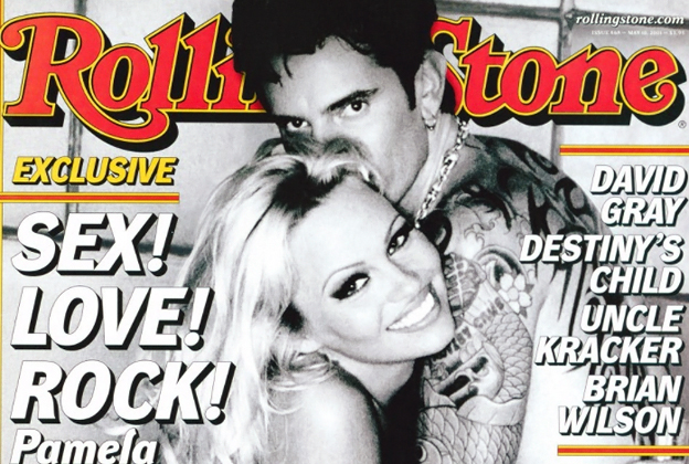 The Ballad Of Pamela Anderson Tommy Lee Rolling Stone