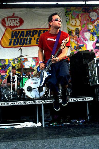 novísimo selección disfruta el precio más bajo paquete de moda y atractivo Blink-182's Rock Show: Mark Hoppus, Tom DeLonge and Travis ...
