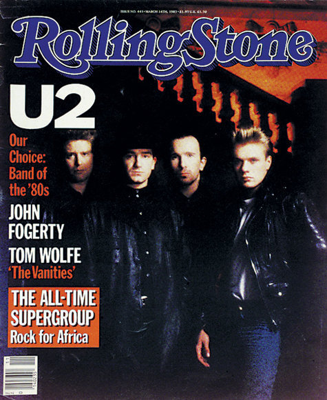 Image result for rolling stone U2 cover
