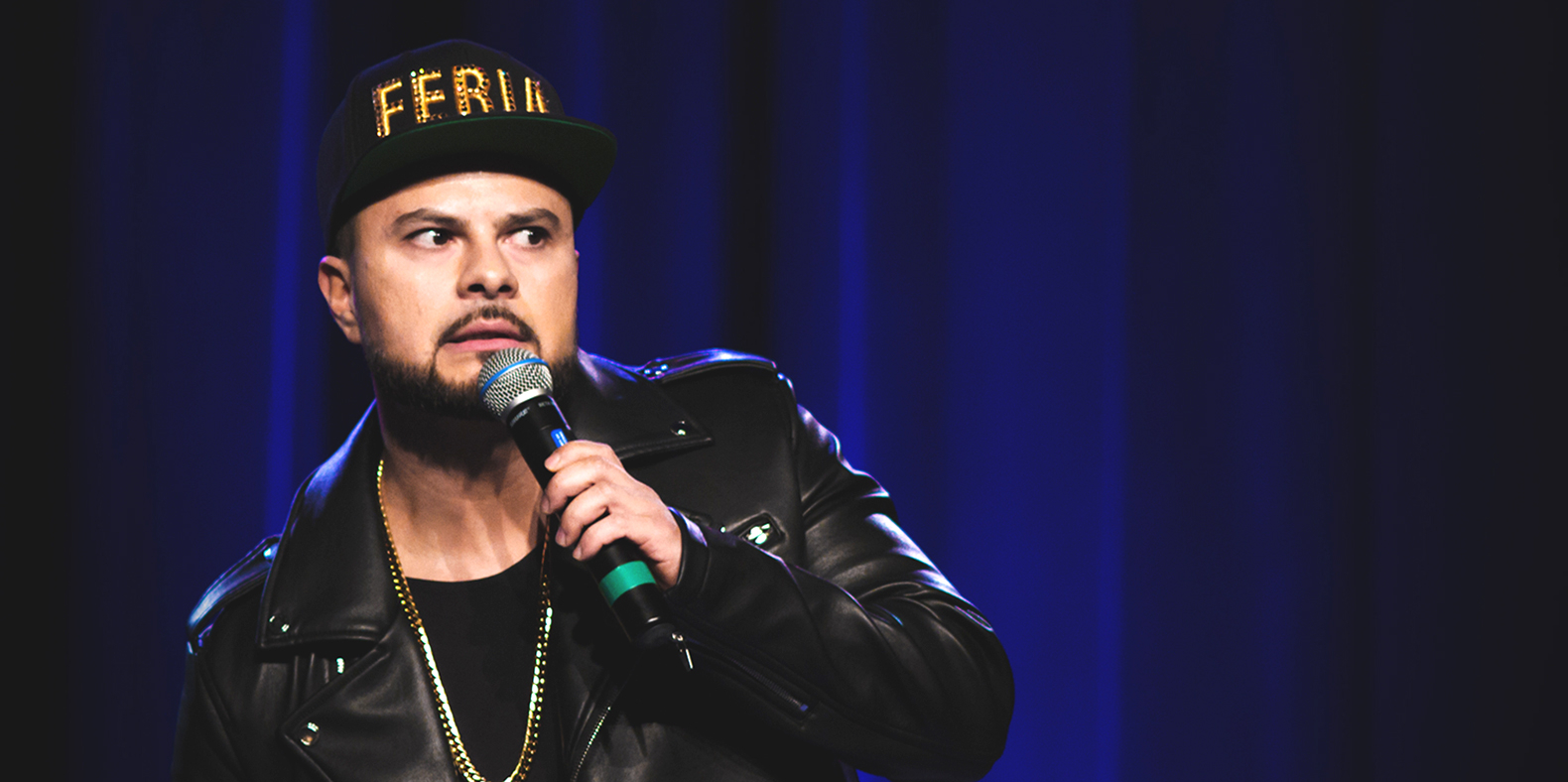 chingo bling rapper turned stand up tackling immigration rolling