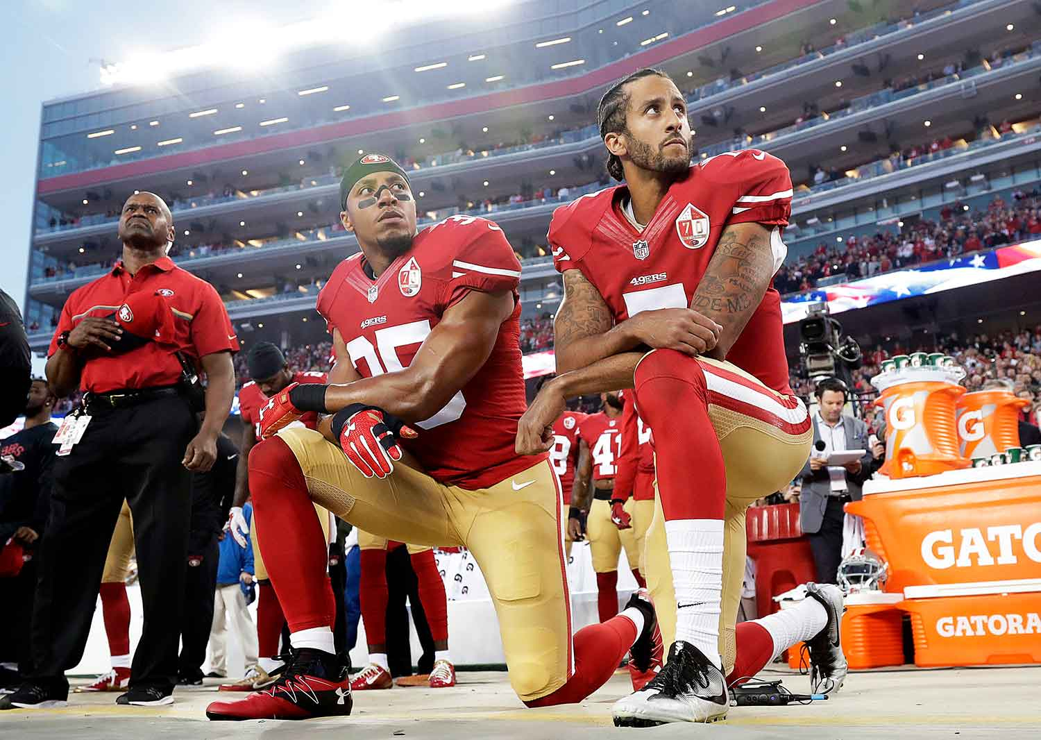 958d1d75f64 Colin Kaepernick s Protest  One Month Later – Rolling Stone