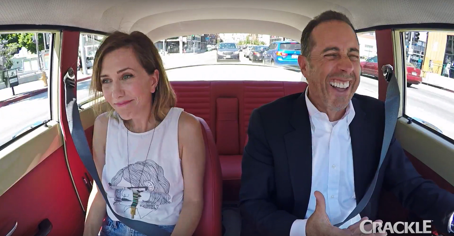 Commedians In Cars: Watch Kristen Wiig Cruise With Jerry Seinfeld In