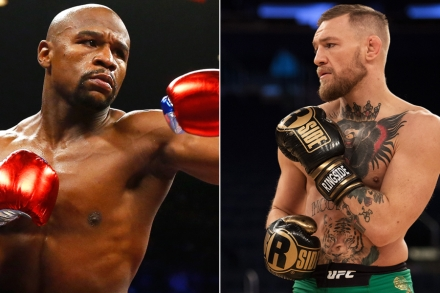 Conor Mcgregor Vs Floyd Mayweather Superfight Announced Rolling Stone