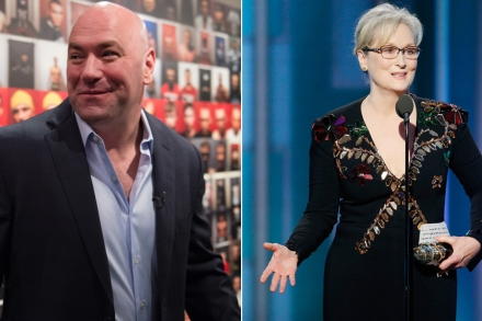 UFC's Dana White on Meryl Streep's 'Uppity' MMA Comments