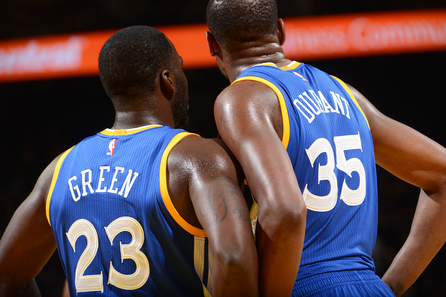 d977ca262922 Draymond Green Kevin Durant. Draymond Green called Kevin Durant right after  the Golden State Warriors lost ...