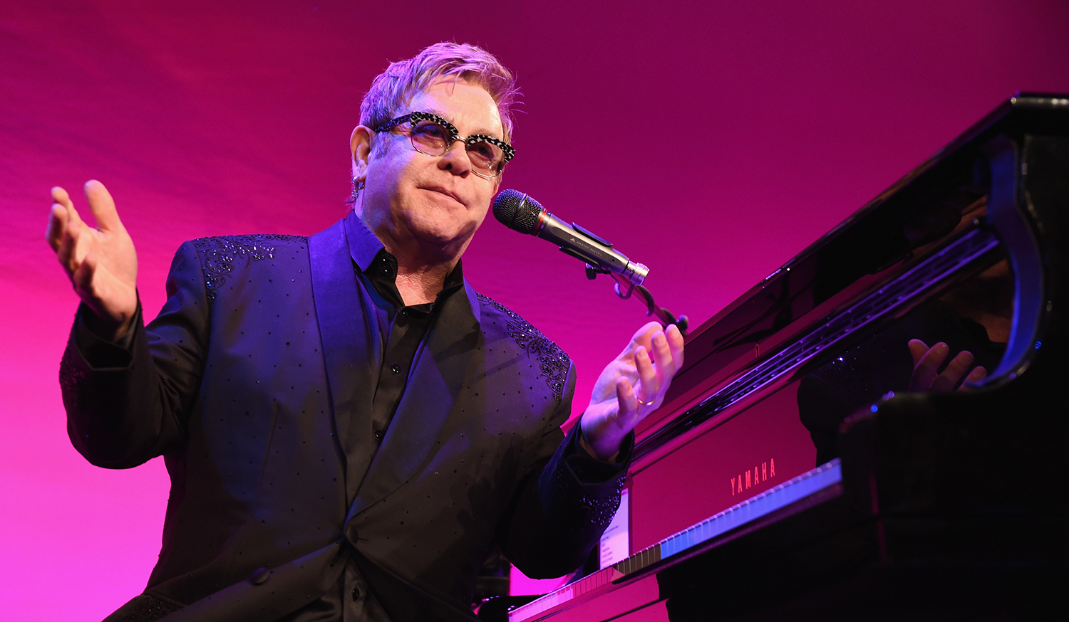 Elton John Denies Plans to Play Donald Trump's Inauguration