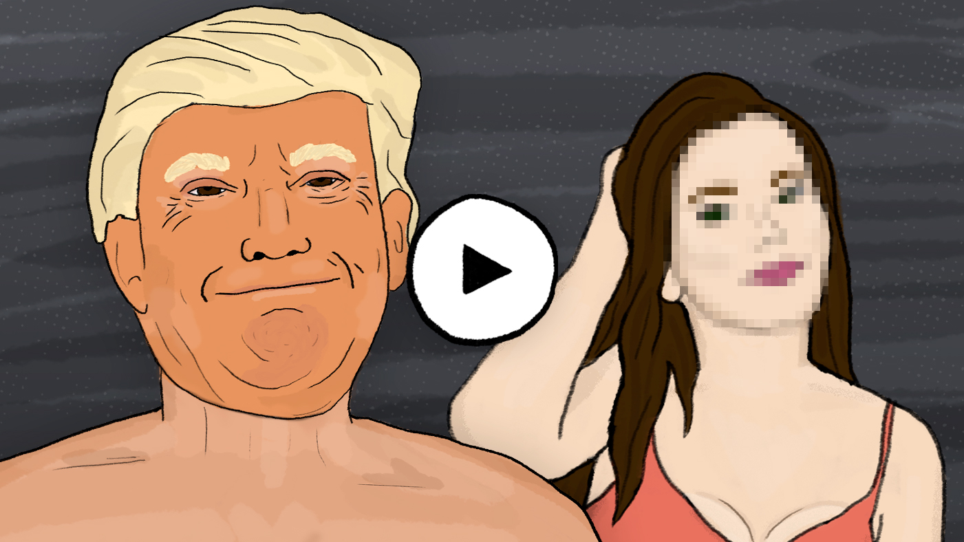 Порно мультик лицо с обложки