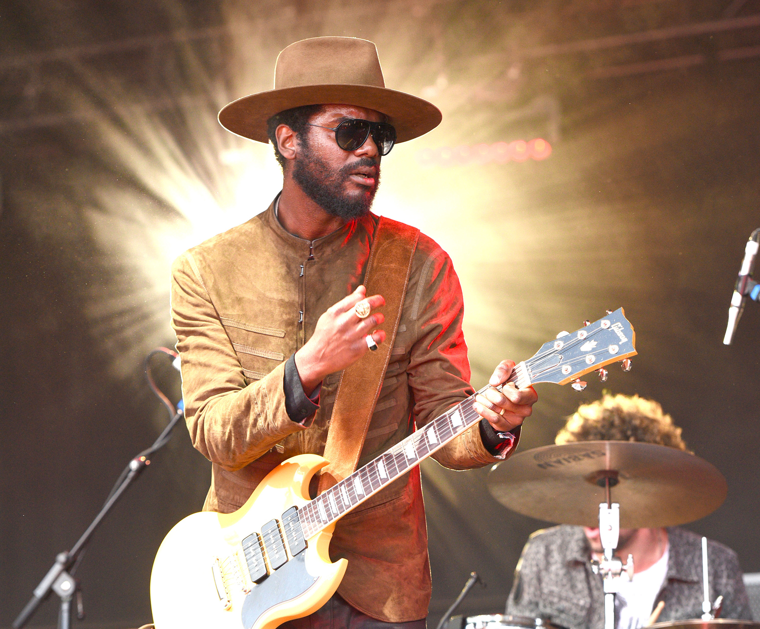 gary clark jr on jimi hendrix comparisons at monterey pop rolling stone. Black Bedroom Furniture Sets. Home Design Ideas